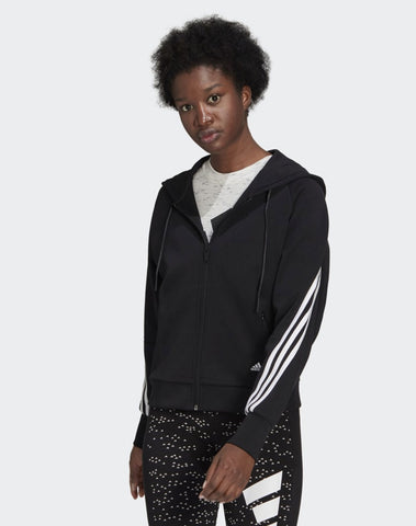 Adidas Sportswear Wrapped 3-stripes Full-zip Hoodie