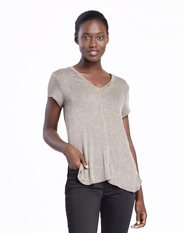 Adley V-neck Tee