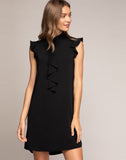 AINSLEY RUFFLE DRESS