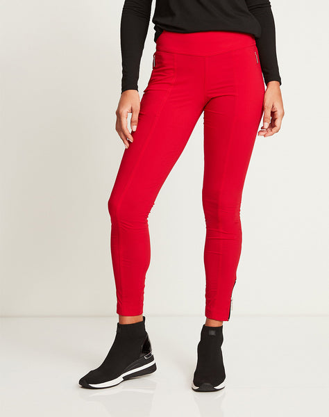Allie Hybrid Pant in Atomic Red
