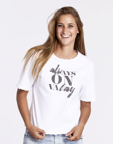 Always On Vacay Tee