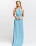 Amanda Maxi Dress ~ Poolside Chiffon