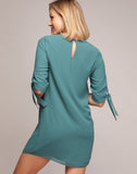 AMARYLLIS LONG SLEEVE MINI DRESS