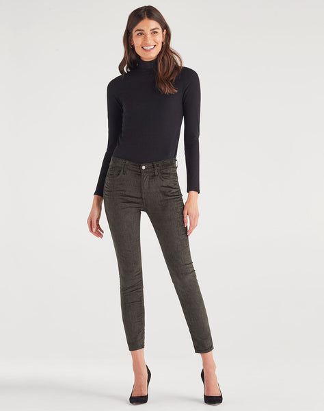 Ankle Skinny In Evergreen