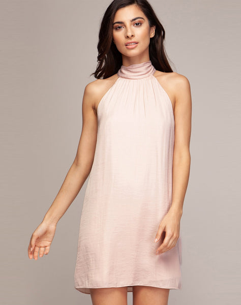 ARDEN MOCK NECK DRESS