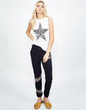 Ashlin Vintage Stripe Star