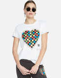 Aviana Rad Checkered Heart