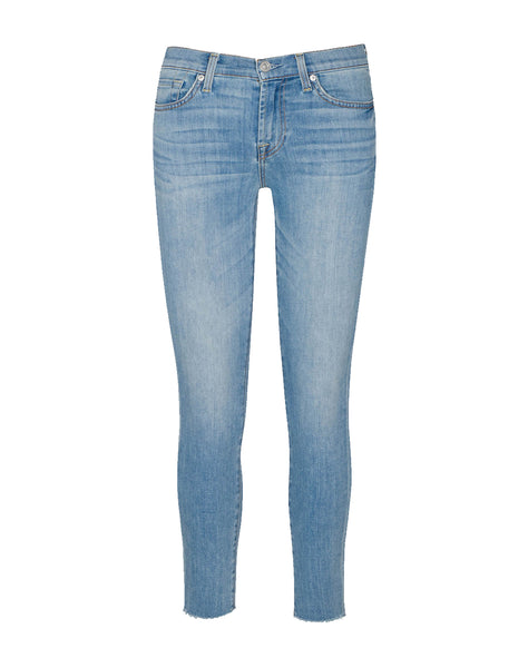 B(air) Ankle Skinny With Frayed Hem In Ashcroft