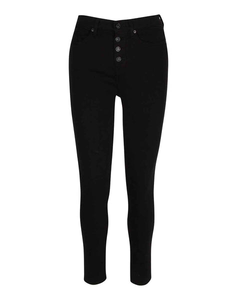 b(air) Gwenevere High Waist Ankle Skinny in Night Black