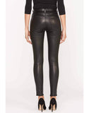 Barbara High-Rise Super Skinny Leather Pant