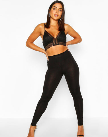 Basic Deep High Waist Leggings