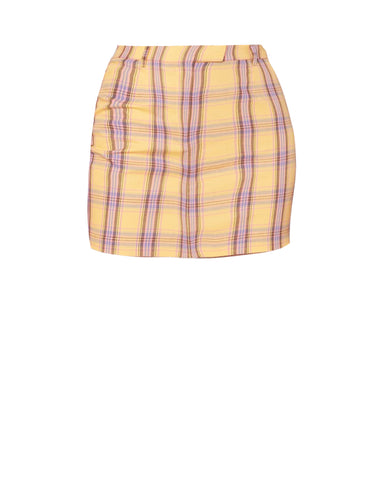 Best I Ever Plaid Skirt