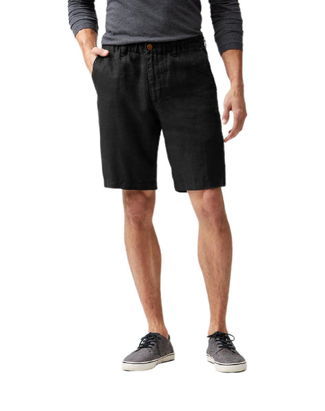 Big & Tall Linen The Good Life Elastic-Waist Shorts