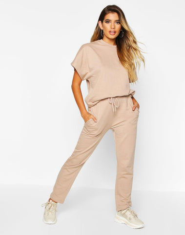 Boxy T-shirt & Jogger Two-piece Set