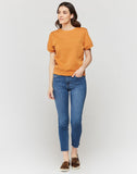 Brandy Terra Short Sleeve Sweatshirt