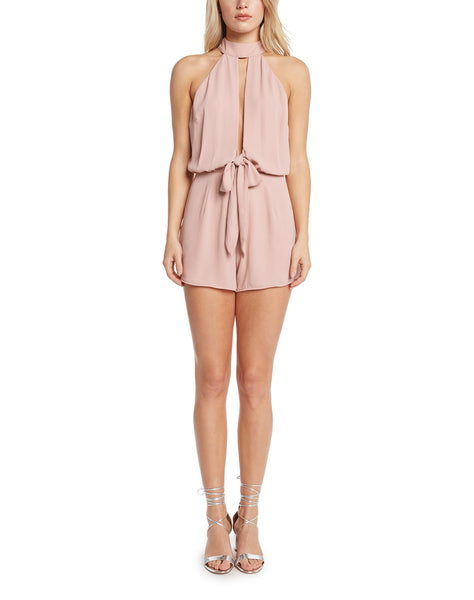 Brantley Halter Cut-Out Romper