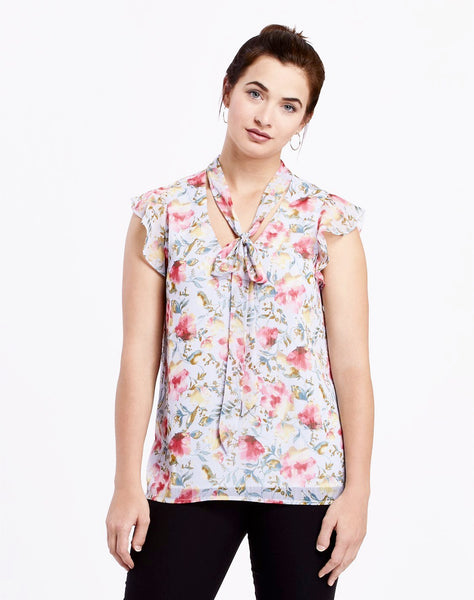 Brody Bow Tie Blouse
