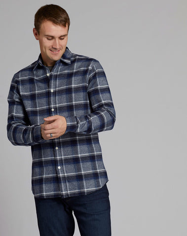 Brushed Check Flannel Shirt