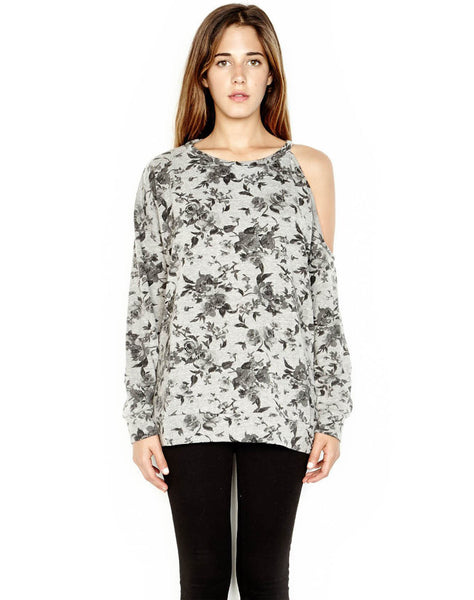 Buck One Shoulder Open Pullover