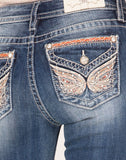 Butterfly Haven Bootcut Jeans
