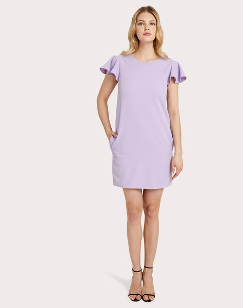 Cady Bryce Ruffle Sleeve Dress
