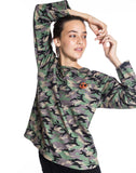 Camo Crew Neck Sweatshirt