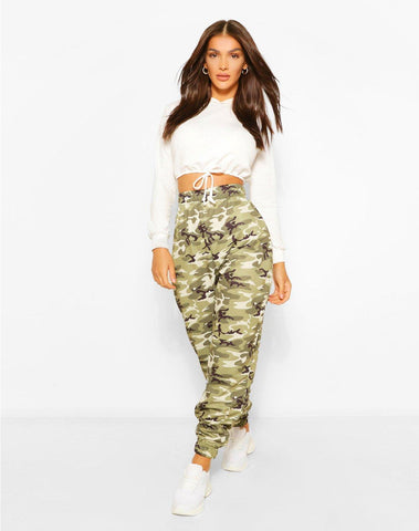 Camo Oversized Sweat Joggers