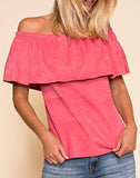 Cape Horn Suede Top