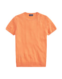 Cashmere Short Sleeve Sweater.