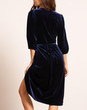 Catarina Velvet Dress