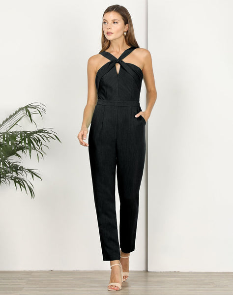 Channing Twist Neck Jumpsuit