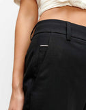 Cigarette Trouser in Jet Black