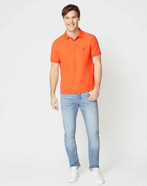 CLASSIC FIT DECK KNIT POLO
