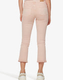 Connector Kick Crop Jean Pearl Pink