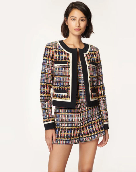 Couture Tweed Multicolor Jinny Boxy Jacket