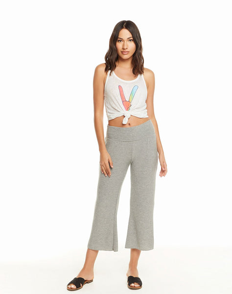 Cozy Knit Wide Leg Lounge Pant
