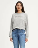 ® Crewneck Sweatshirt Box Tab Smokestack Heather - Grey