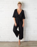 Crop Meridith Jumpsuit