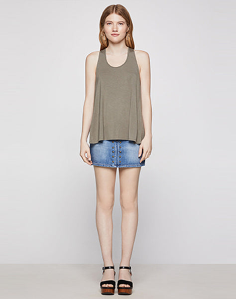 Crossback Knit Tank Top