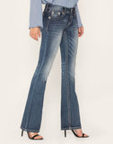 CROSSING PATHS BOOTCUT JEANS