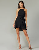 Dana Tie Waist Flounce Dress