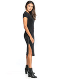 Devia Side-Zip Dress