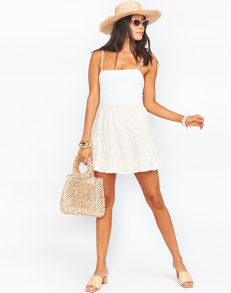 Devon Mini Skirt ~ Daisy Lady