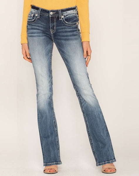 Diamond In The Rough Bootcut Jeans