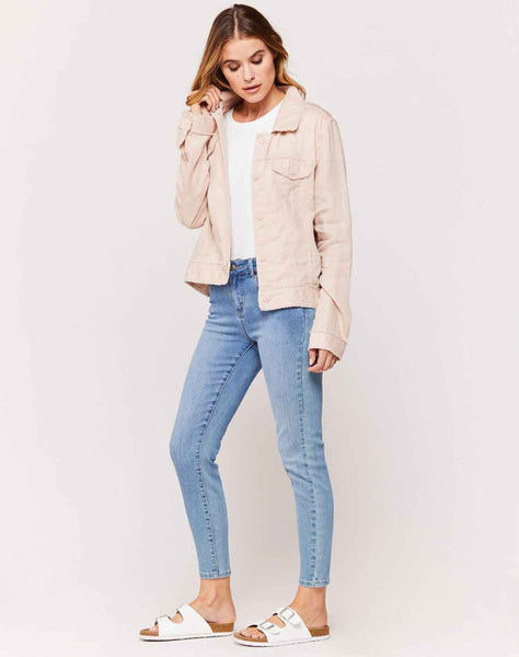 Dollison Blush Long Sleeve Jacket