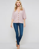 Dolman Sleeves Button Down..