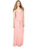 Oz Long Dress W/ Drawstring