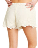Lace Tulip Short W/ Drawstring