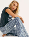 Dream Lover Flare Printed Jeans