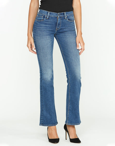 Drew Mid-Rise Bootcut Jean